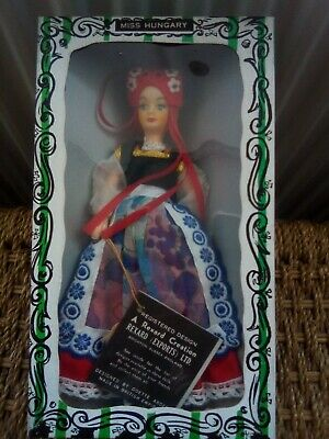 Miss Hungary Vintage Rexard Costume Doll • 9.99£