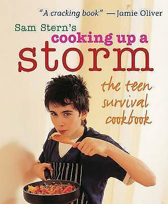 Cooking Up A Storm: The Teen Survival Cookbook By Mr Sam Stern (Paperback, 2006) • 0.99£