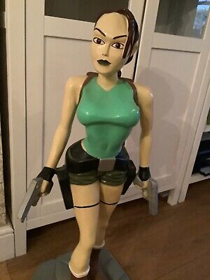 Lara Croft Tombraider 3ft Figure • 1£