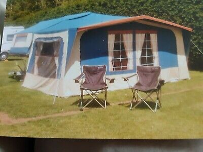 Conway Cruiser Trailer Tent/folding Camper With Awning. • 850£