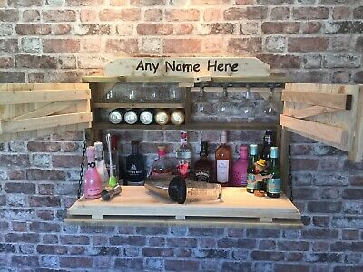 Drinks Bar. Wall  Mounted  Drinks Outdoor Bar. Ideal For Christmas . Home Bar. • 160£
