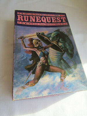 Official Runequest Miniatures Set 1 Humanoid Adventurers • 40£