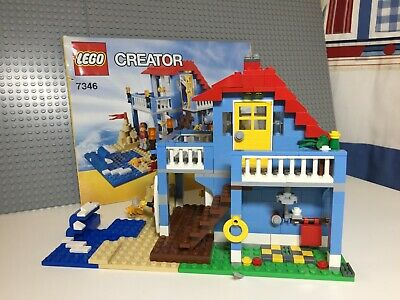 LEGO Creator Seaside House (7346) 100% Complete • 10£