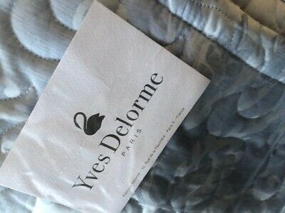 YVES DELORME  NEPTUNE COLLECTION  Superking Counterpane Bnwt • 199.99£