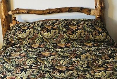 Tapestry Throw/BedCover/Quilt/ Duvet Cover William Morris Style Medieval • 7.99£
