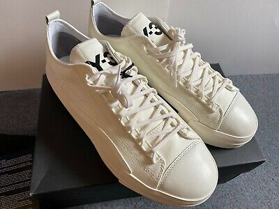 ADIDAS Y3 Yuben Low - Size 8 UK *NEW BOXED* Sneakers Trainers Deadstock RRP £220 • 149£