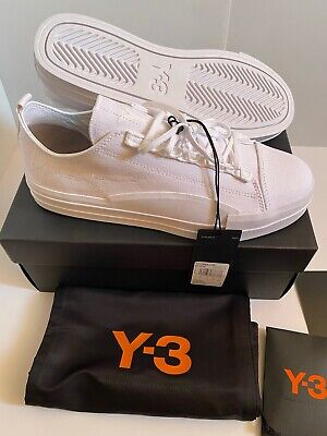 ADIDAS Y3 Yuben Low - Size 8 UK *NEW BOXED* Sneakers Trainers Deadstock RRP £220 • 149.99£
