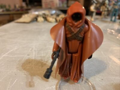 $ CDN2.25 • Buy Vintage Star Wars Vinyl Caped Jawa Complete/ Authentic