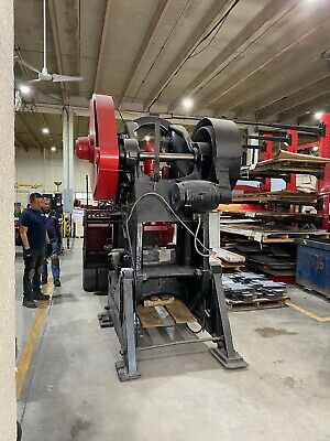 $4700 • Buy Johnson Machinery Corp OBI 80 Ton Press In Excellent Condition