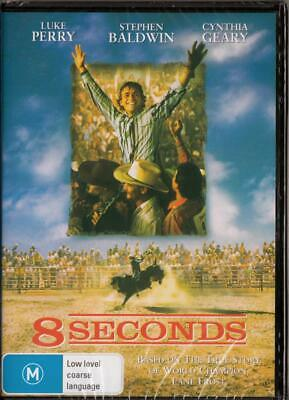 AU9.67 • Buy 8 Seconds - Luke Perry - New & Sealed Region 4 Dvd Free Local Post