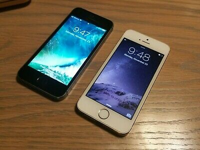 $ CDN91.64 • Buy Lot Of 2 Apple IPhone 5s 16GB Space Gray White A1533