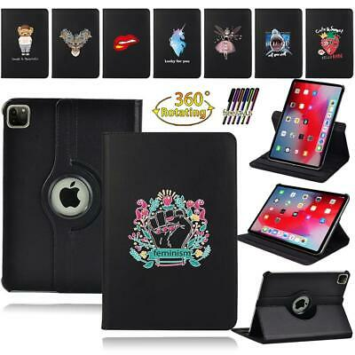 For Apple IPad Air /Air 2 / Air 3 /4 Leather 360°Rotating Stand Case Cover + Pen • 7.99£