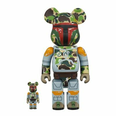 $576.79 • Buy Just Be Rbrick Bape R Boba Fett 400 100 Bearbrick