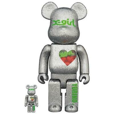 $526.21 • Buy Be Rbrick X-Girl Yurino E-Girls 100 400 Medicom Toy Bearbrick X Girl