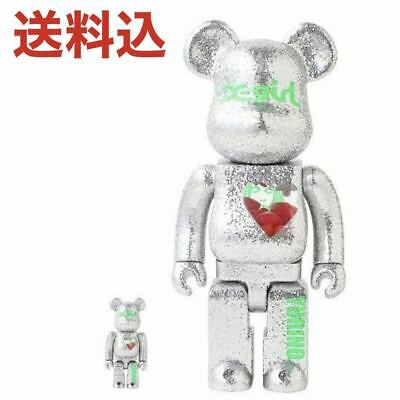 $590.15 • Buy X-Girl Yurino Be Rbrick 100 400 Bearbrick
