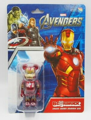 $472.78 • Buy Bearbrick Be Rbrick Iron Man The Avengers Ironman Mark 7 100