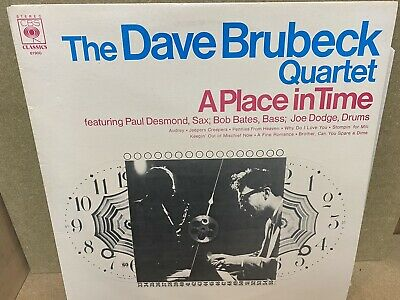 The Dave Brubeck Quartet - A Place In Time Vinyl LP CBS Records 61900 • 7.99£