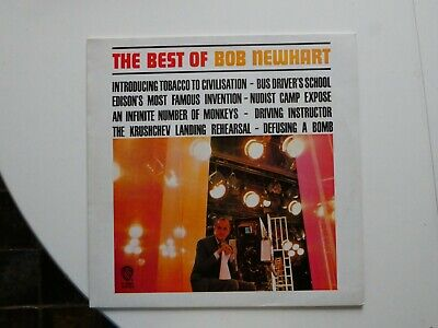 The Best Of Bob Newhart Vinyl LP • 1.25£