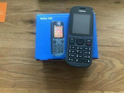 Nokia 100 Mobile Phone Long Life Charge BNIB With Accessories Boxed EE & TMobile • 16.98£