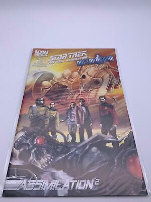 Comic💎Star Trek: The Next Generation/Doctor Who💎2012💎#4🌟IDW: Sep 1, 2012🌟 • 24.95£