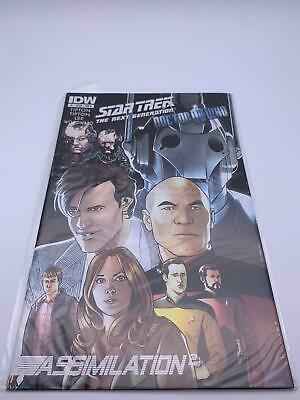 Comic💎Star Trek: The Next Generation/Doctor Who💎2012💎#1🌟IDW: May 1, 2012🌟 • 24.95£