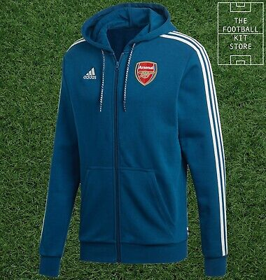 Official Adidas Arsenal Hooded Track Top Mens - AFC Football Jacket - All Sizes • 37.99£