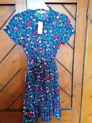 £8 • Buy Blue Zoo Girls Dress Age 10 Blue Floral