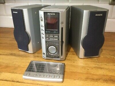 Aiwa XR-MS3 CD Player Tape Deck FM/AM Digital Radio,faulty Tape Read Description • 40£