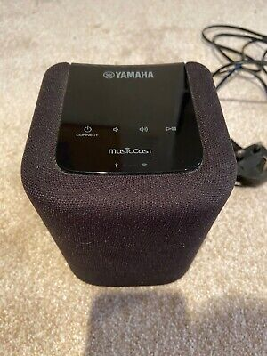 Yamaha MusicCast WX010 Wireless Speaker With Bluetooth & Airplay - Black • 50£