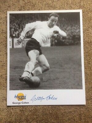 GEORGE COHEN Autographed Editions HAND SIGNED Photo Card ENGLAND FULHAM • 49.99£