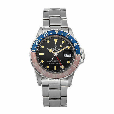 $ CDN16227.33 • Buy PRE-SALE Rolex GMT-Master Mens Steel Automatic Watch 1675 COMING SOON