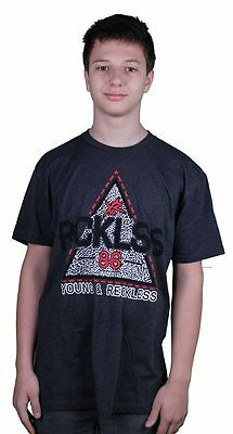 Young & Reckless Trap Star Charcoal T-Shirt • 20.10£