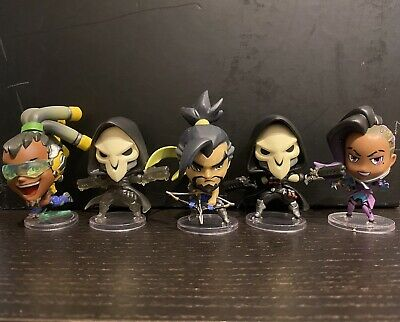 AU20 • Buy Overwatch Blizzard Cute But Deadly Lot 2x Reaper, Hanzo, Sombra & Lucio Figures