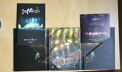 GENESIS When In Rome 2007 3 Discs. 2 Concerts + Documentary Come Rain Or Shine • 27£