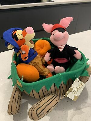 Piglet And Tigger In A Wheelbarrow - Soft Toy • 1.20£