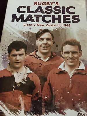 £4 • Buy Rugby Classic Matches British Lions V New Zealand 1966 Dvd Colin Stan Meads