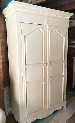 Ivory French Style Furniture, 2 Wardrobes And Chest Of Drawers. Matching Set. • 399£