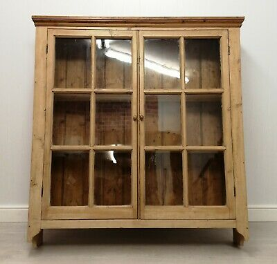 Rustic Pine Glazed Wall Unit - Home From Home Store HF5295 • 99£