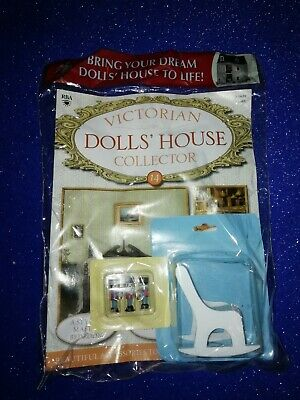 Victorian Dolls House Collector No 14 Furniture Rocking Chair Toys Sealed  • 7£