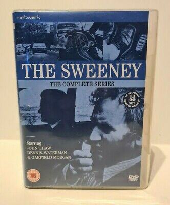 THE SWEENEY - COMPLETE SERIES 14x DVD BOX SET - BRITISH CULT CLASSIC TV  • 11.50£
