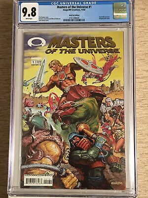 $84.99 • Buy Masters Of The Universe #1 ~~Gold Foil~~ CGC 9.8  (Image '02) 1st Print MINT!