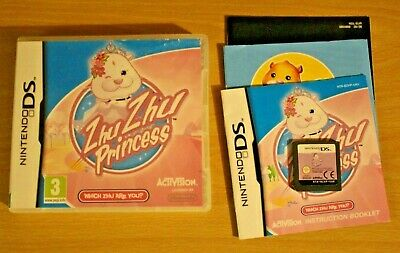 NINTENDO DS ZHU ZHU PRINCESS Complete With Manual FREE Fast Postage • 4.25£