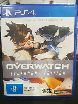 AU24.50 • Buy Overwatch Legendary Edition - PS4 Playstation 4 Game - Like New - Free Postage