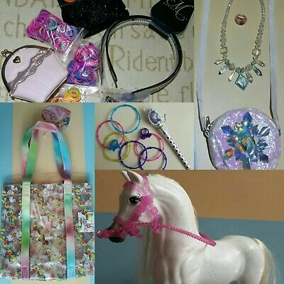Toys Bundle Mix Girls Toys Accessories Horse Bag Purse + Job Lot Girls Gift Idea • 19.50£