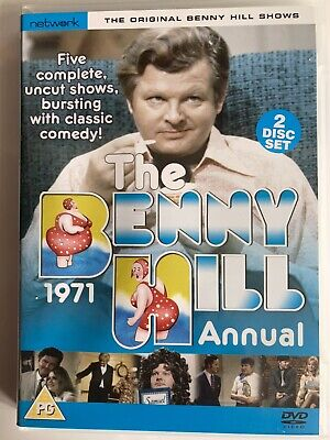 The Benny Hill Annual 1971 (DVD, 2005, 2-Disc Set) • 2.25£