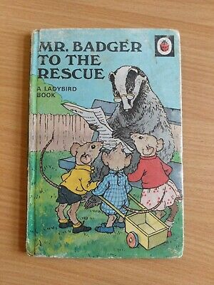 Vintage Ladybird Book Series 401 - Mr. Badger To The Rescue • 3£