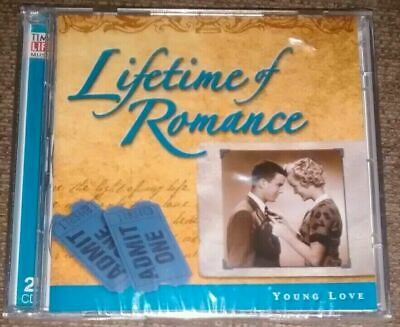 Lifetime Of Romance: Young Love (Time Life 2 CD Set, 2005) New Sealed • 8.99£
