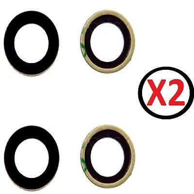 £2.99 • Buy For IPhone XR Rear Camera Glass Lens Replacement X 2