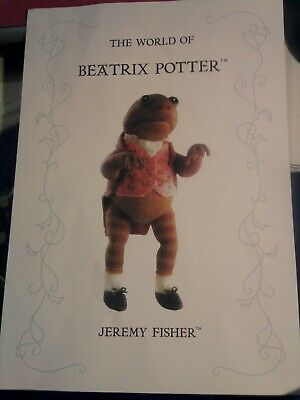 Alan Dart Jeremy Fisher Knitting Pattern Beatrix Potter • 10£