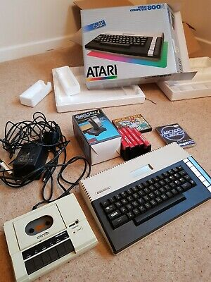 Atari 800XL Computer And Accessories, Original Packaging, But Untested • 60£